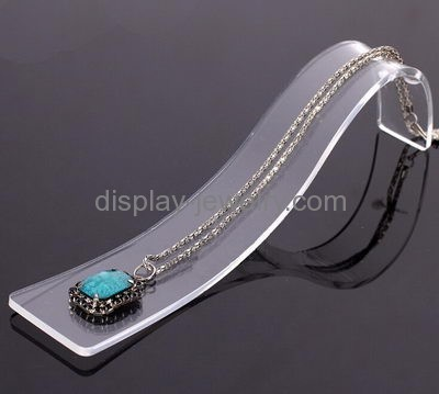 Customized Acrylic Jewellery Display Jewelry Counter Necklace Ndj 001