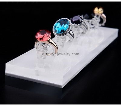 Factory direct sale acrylic jewelry display ring display counter top display RDJ-016