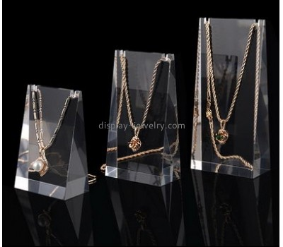 Wholesale acrylic necklace holder jewellery display for display counter NDJ-006
