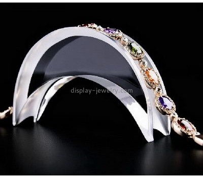 Hot selling acrylic jewelry display stands retail shelving jewelry holder NDJ-012