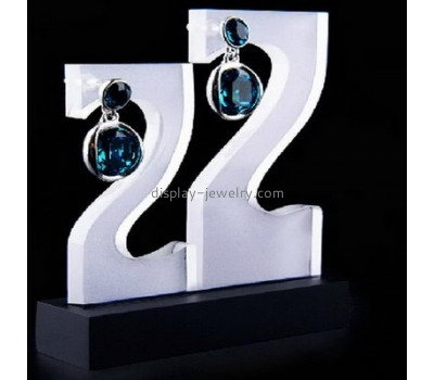 Hot selling acrylic hanging earring holder jewelry store supplies and displays jewelry display racks EDJ-014