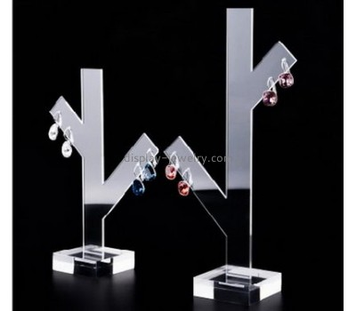 Wholesale acrylic earring necklace holder acrylic jewellery display stands countertop retail displays EDJ-019