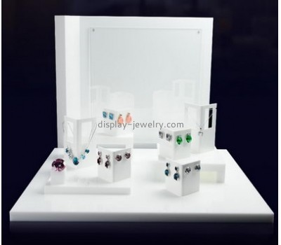 Factory customized display stand acrylic earring and necklace display stands small acrylic display stands EDJ-025
