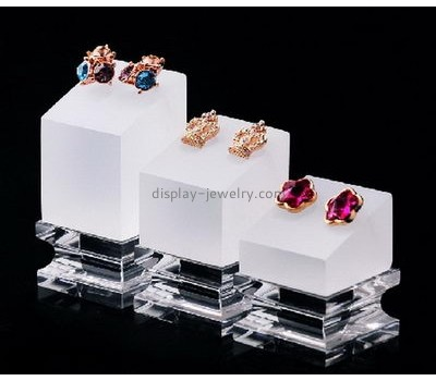 Custom design acrylic store display stands retail jewelry display earring racks for sale EDJ-029