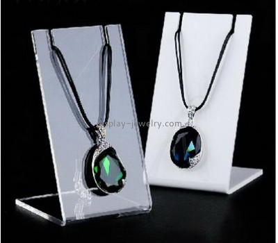 Factory direct sale acrylic counter display necklace jewelry holder display necklaces NDJ-028
