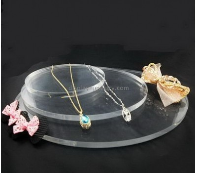 Customized acrylic lucite holders tall necklace display jewellry display stands NDJ-036