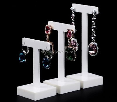Custom acrylic jewelry stand display jewellry displays counter display stands for earring EDJ-053