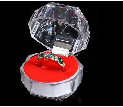 Customized display cubes acrylic ring case display tabletop jewelry display RDJ-050