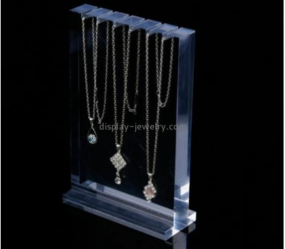 Custom jewellery stands wholesale clear table top display stands necklace jewelry stand NDJ-055