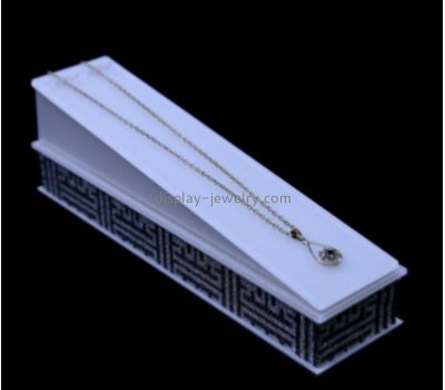 Custom display stand acrylic cheap jewellery display stands necklace jewelry stand NDJ-056