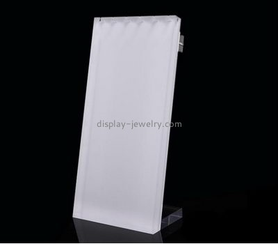 Custom acrylic counter top display jewelry display wholesale long necklace stand NDJ-072