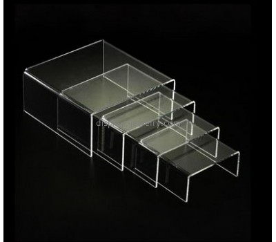 Custom acrylic risers earring and necklace display stands display for jewelry NDJ-075