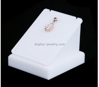Customized acyrlic store display necklace jewelry holder jewellery display stands for shops NDJ-106