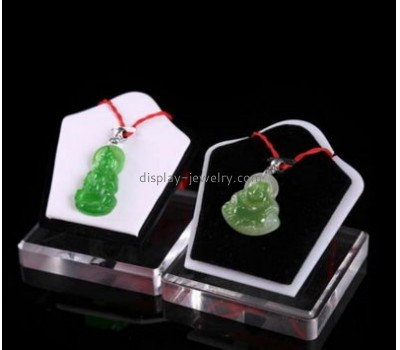 Customized acrylic tabletop display stands necklace bust stand jewellery stands for sale NDJ-118