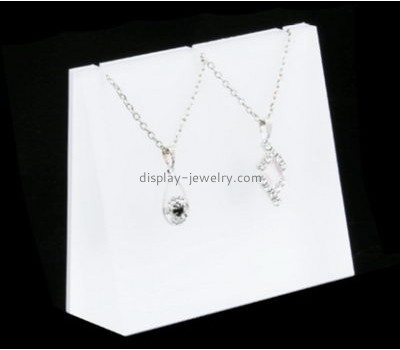 Custom acrylic necklace display rack jewellery stands for sale NDJ-129