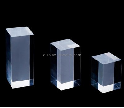 Customized clear acrylic necklace bust display rack stands NDJ-130