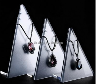 Wholesale acrylic necklace jewellery shop display stands NDJ-196