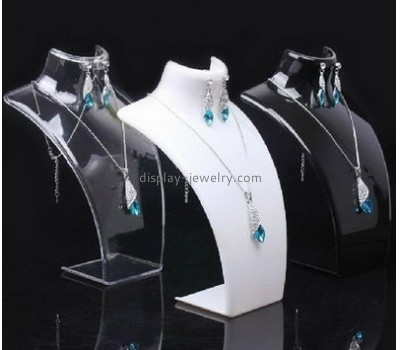 Acrylic display factory custom acrylic modern jewelry necklace display bust NDJ-206