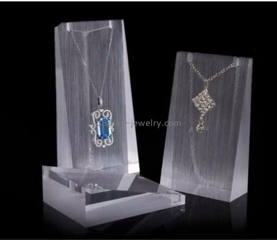 Acrylic factory custom acrylic jewellery display boards necklace holder stand NDJ-213