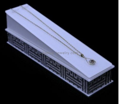 Acrylic display manufacturers custom acrylic jewelry necklace display rack NDJ-216