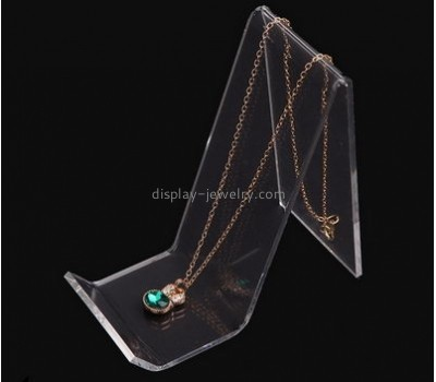 Acrylic display factory custom necklace holders jewellery display stands for shops NDJ-242