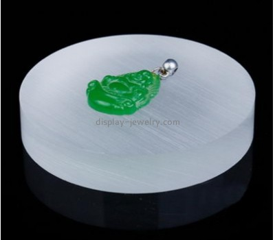Jewelry display factory customize solid acrylic block pendant display ODJ-012