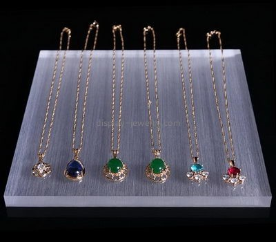 Jewelry display manufacturers customized acrylic jewelry holder for necklaces NDJ-260