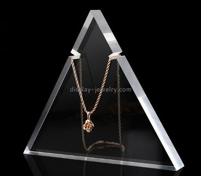 Jewelry display manufacturers customized acrylic retail jewelry necklace display stands NDJ-278