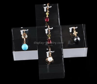 Jewelry display manufacturers customized luxury retail display best earring organizer EDJ-104