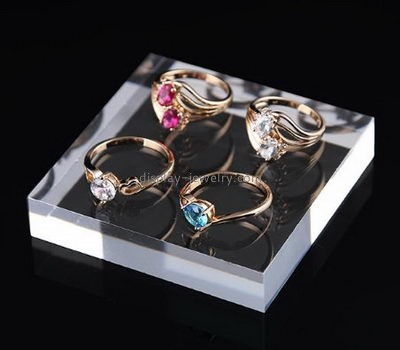 Jewelry display manufacturers customized acrylic ring display holder RDJ-127