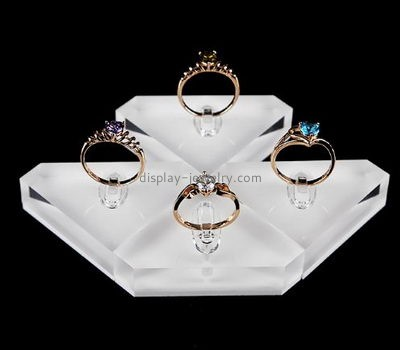 Jewelry display manufacturers customized acrylic jewelry ring display trays DMD-130