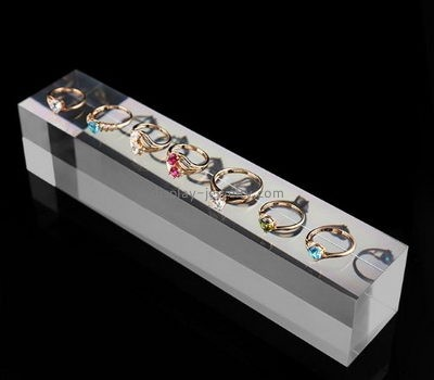 Store display manufacturers customized acrylic ring display stand RDJ-141