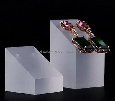 Acrylic display manufacturers plexiglass fabrication earrings stand holder EDJ-150