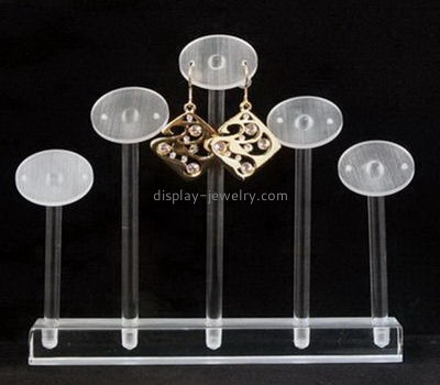 Acrylic display manufacturers custom made acrylic earing stand EDJ-194