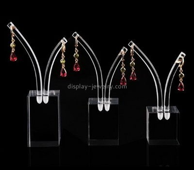Acrylic manufacturers custom acrylic and plastic earrings stand holder EDJ-252