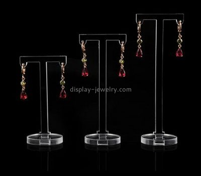 Acrylic products manufacturer custom acrylic plastic products cheap earring holder EDJ-255