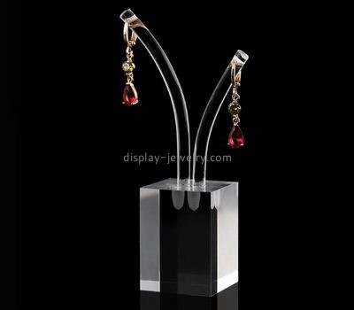 Retail display manufacturers custom plexiglass unique earring holders EDJ-275