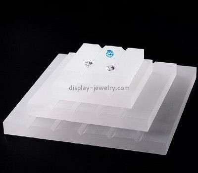 Perspex manufacturers custom earring display block EDJ-318