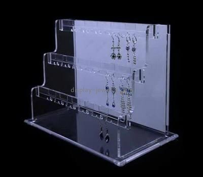 Lucite manufacturer custom acrylic stud earring organizer display stands EDJ-323
