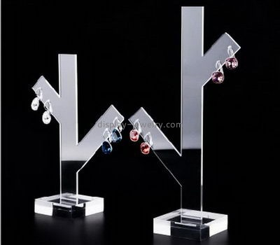Plastic manufacturing companies custom acrylic unique earring holders display stands EDJ-352