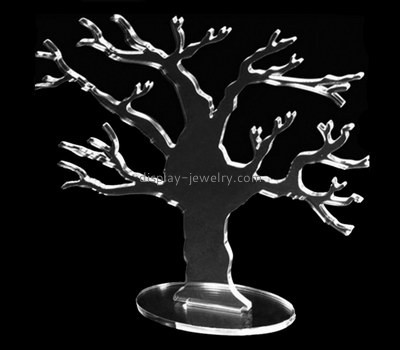 Acrylic products manufacturer custom plastic fabrication earring tree holder EDJ-365