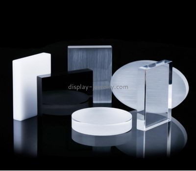 Acrylic supplier custom perspex block jewelry bracelet display BDJ-174
