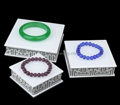 Acrylic display manufacturers custom acrylic blocks display for jewelry BDC-192