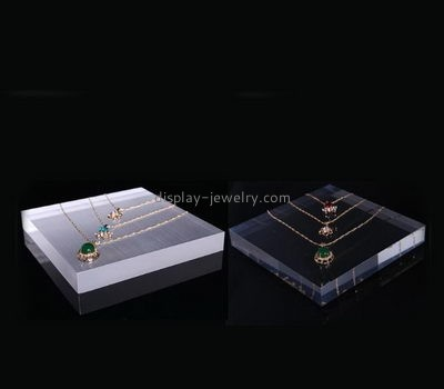 Acrylic display stand manufacturers custom lucite display blocks NDJ-316