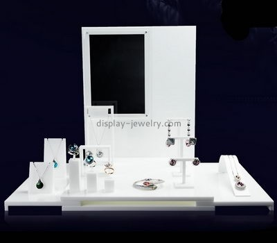 Acrylic manufacturers china custom perspex jewellery stands NDJ-345