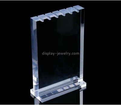 Customized acrylic clear necklace display NDJ-406