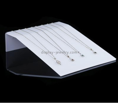Customized acrylic necklace display stands wholesale NDJ-421