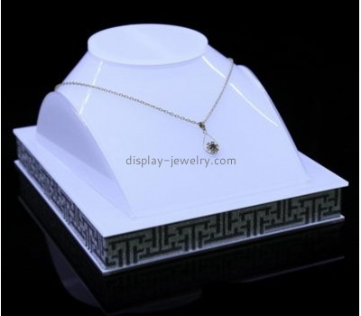 Customized acrylic jewelry bust display NDJ-439