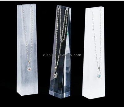 Customized acrylic jewelry store display NDJ-442