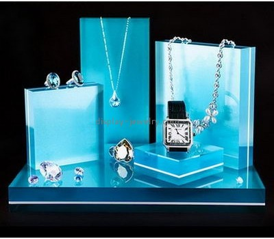 Bespoke acrylic modern jewelry display NDJ-470